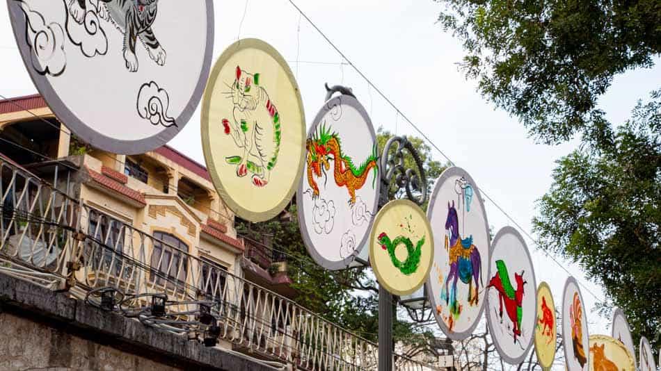 Calendário ano novo lunar vietnamita