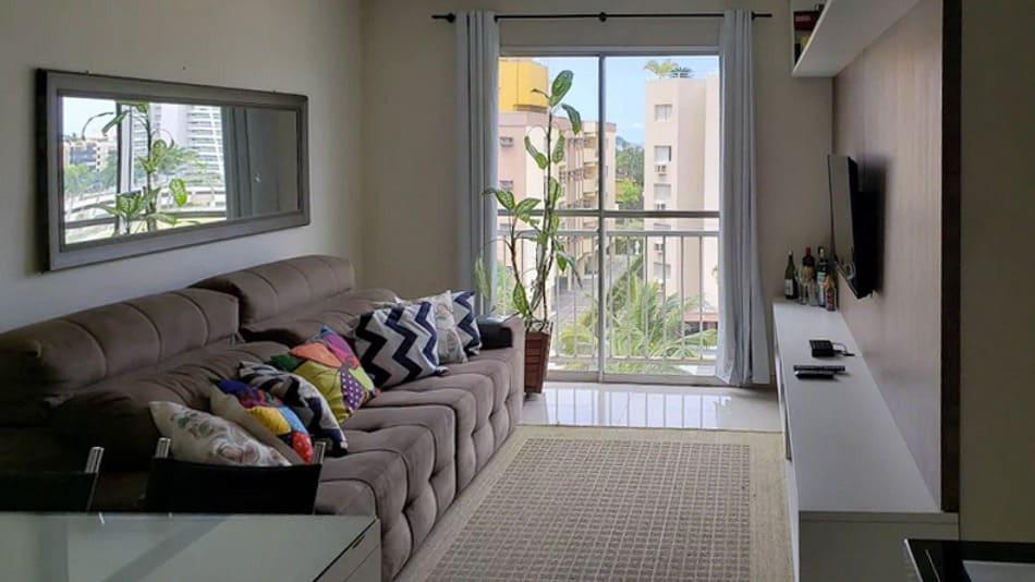 Apartamento para alugar no Guarujá na praia da Enseada