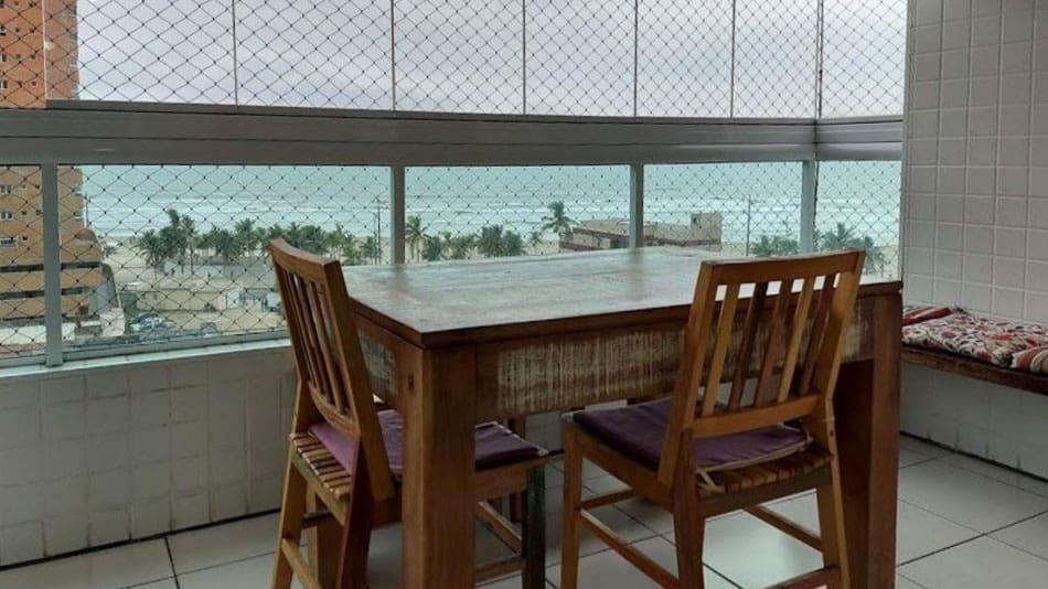 Apartamento para alugar na Praia Grande