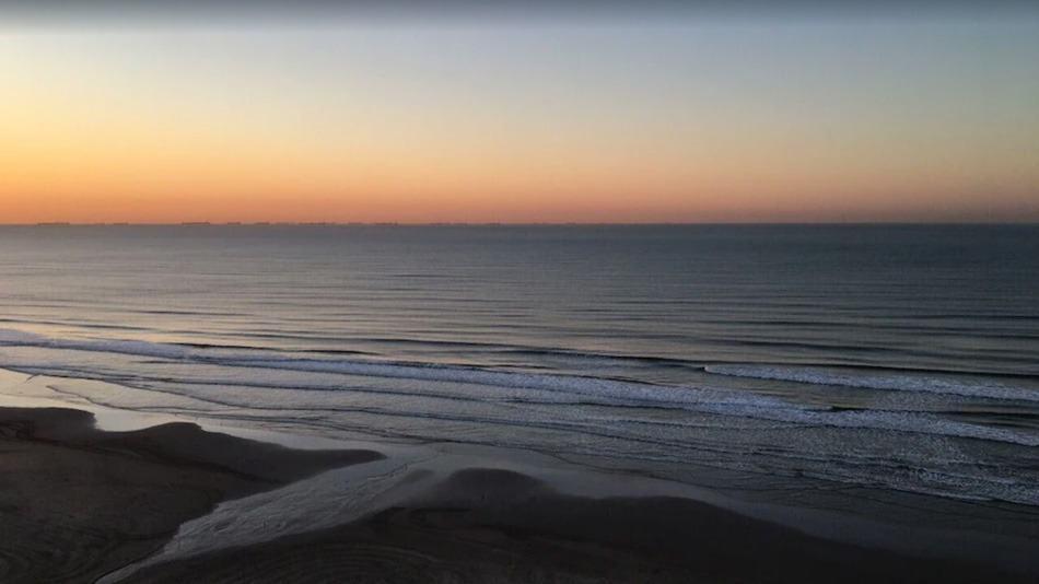 Apartamento para alugar na Praia Grande com vista para o mar