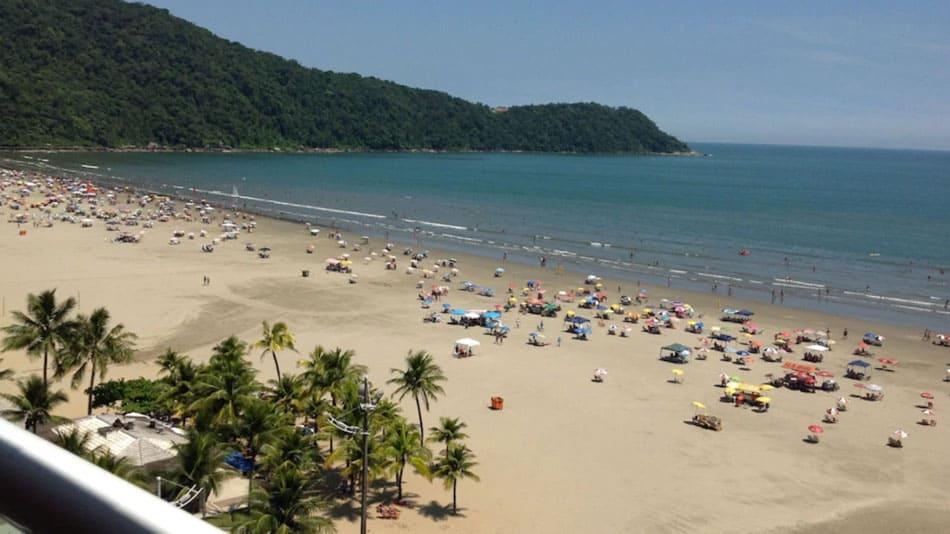 Apartamento para alugar na Praia Grande com vista