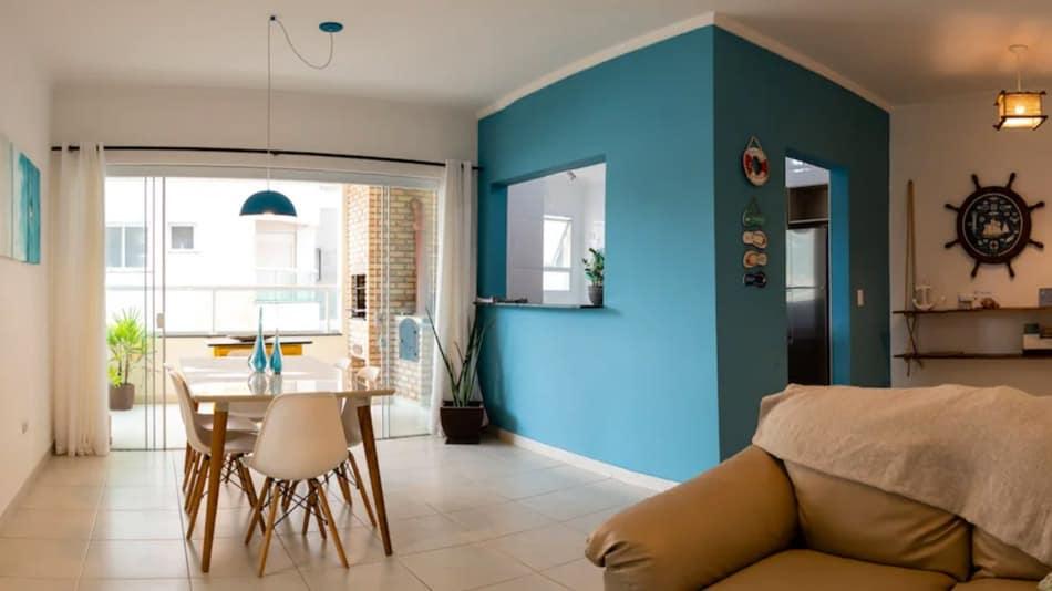 Apartamento para alugar em Ubatuba no Itaguá