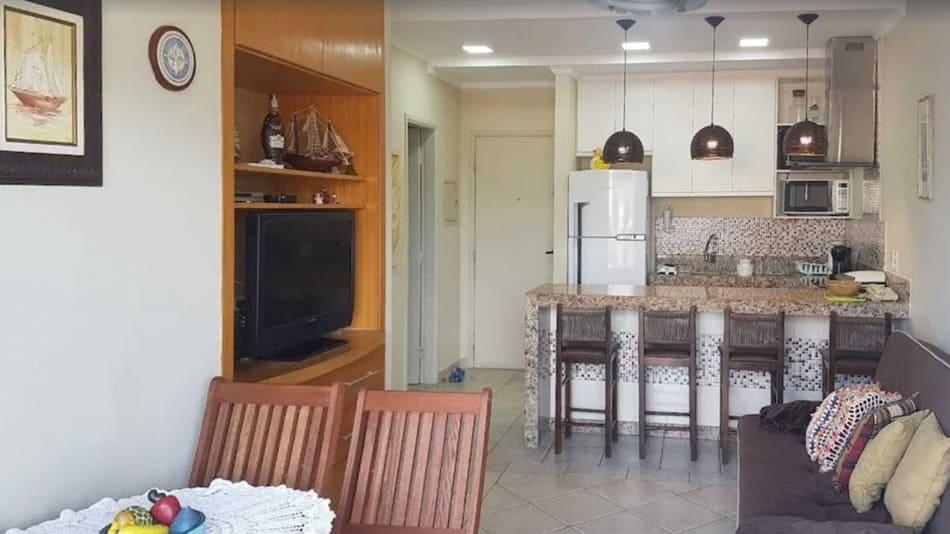 Apartamento para alugar em Ubatuba na praia das Toninhas