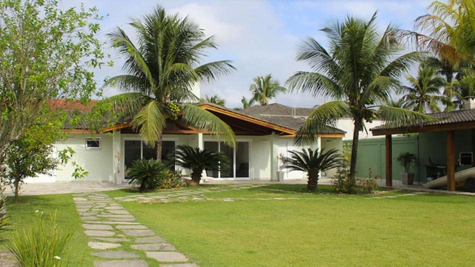 Casa para alugar no Guarujá na praia de Pernambuco