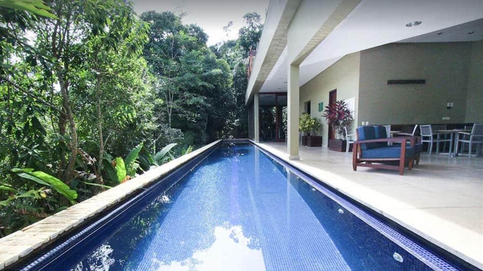 Casa para alugar no Guarujá com piscina privativa