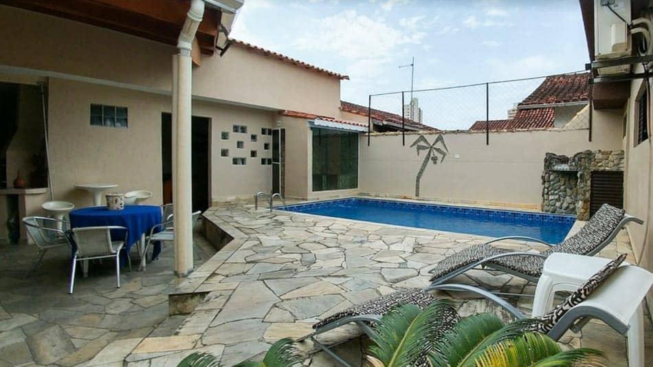 Casa para alugar na Praia Grande