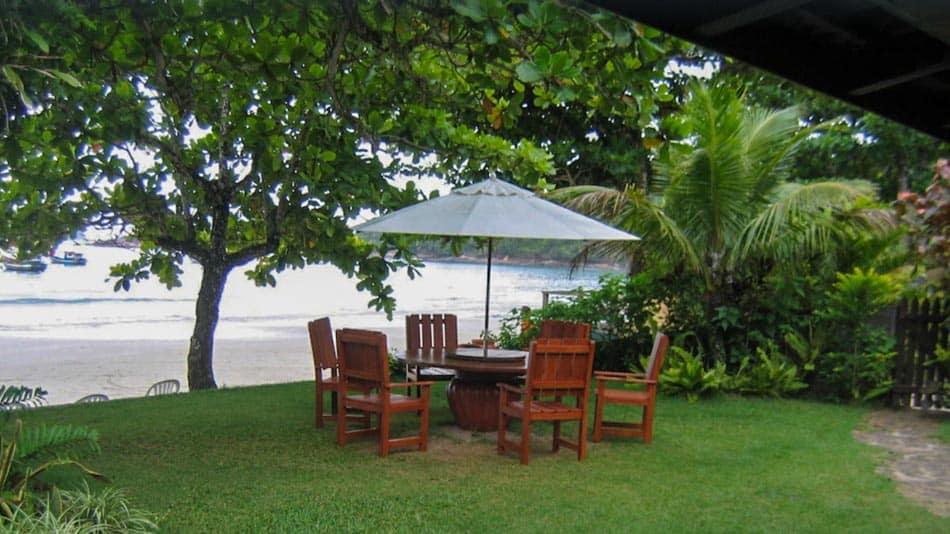 Casa para alugar em Ubatuba na praia da Fortaleza