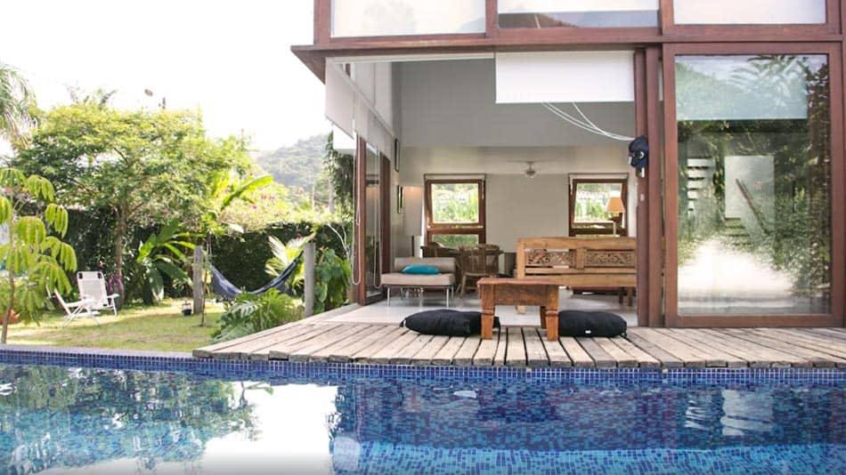 Bela casa para alugar em Ubatuba