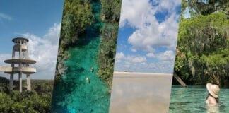 Nove parques naturais na Flórida
