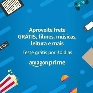 Teste Amazon Prime grátis por 30 dias