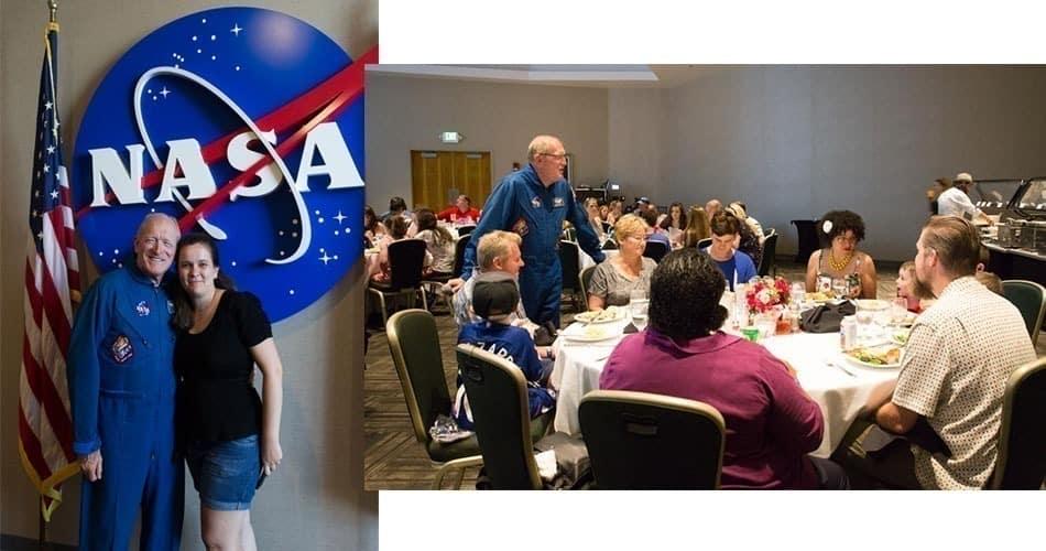 O que fazer na Flórida: almoçar com um astronauta