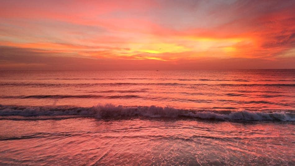 O que fazer na Flórida: ver o nascer do sol na praia