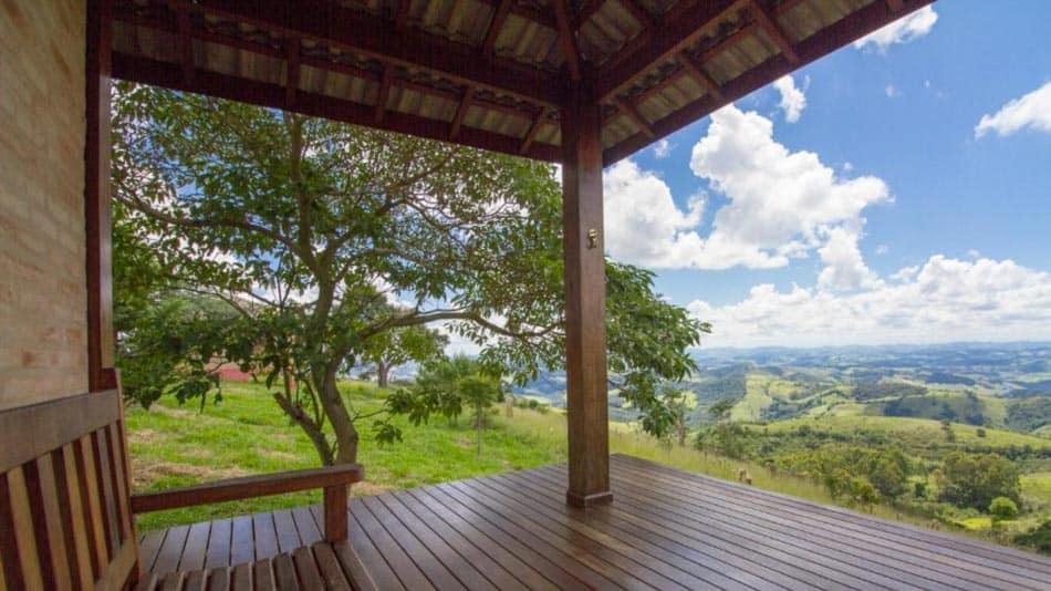 Pousada em Cunha: Magnificent Chalé