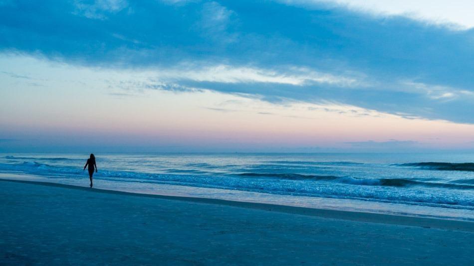 Dica de praia perto de Orlando: New Smyrna Beach