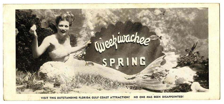 Show de sereias no Weeki Wachee, na Flórida