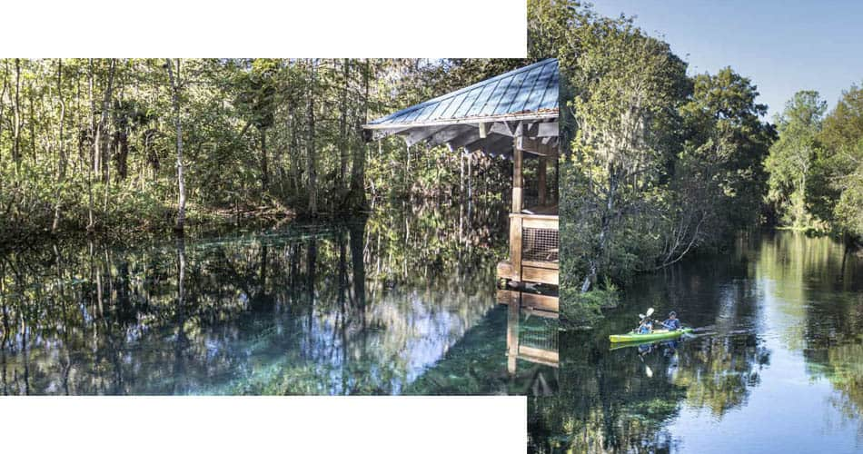 Parque Silver Springs perto de Orlando