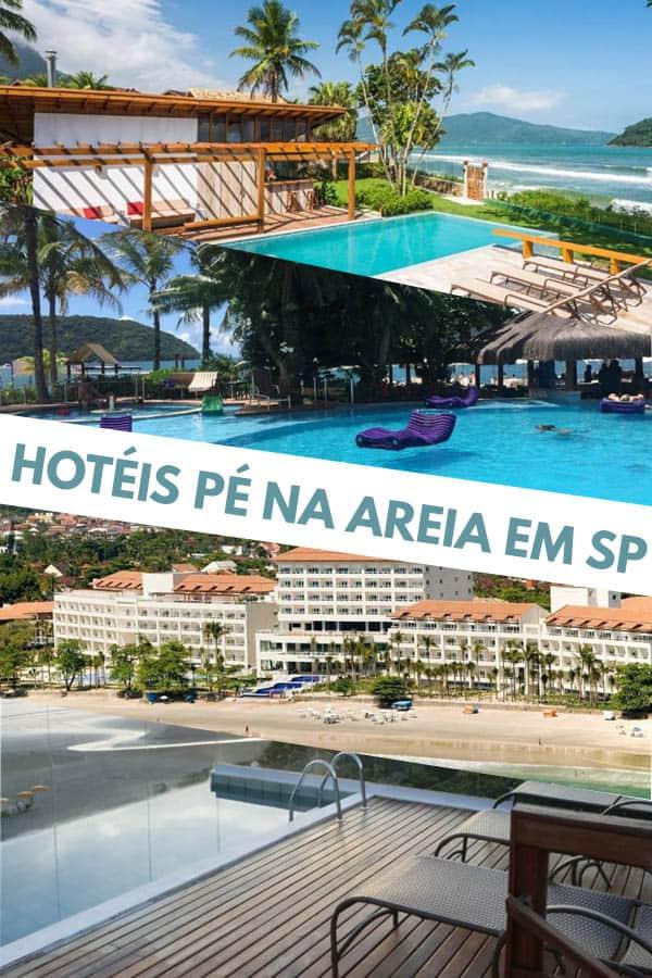 Confira 9 incríveis hotéis pé na areia SP para quem deseja passar alguns dias à beira mar com muito conforto e tranquilidade.