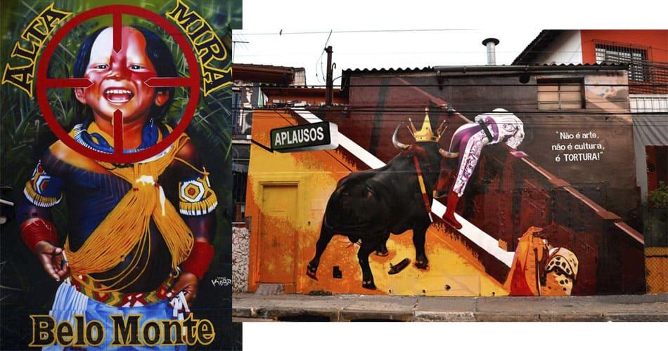 Murais do Kobra em SP: Projeto GreenPincel