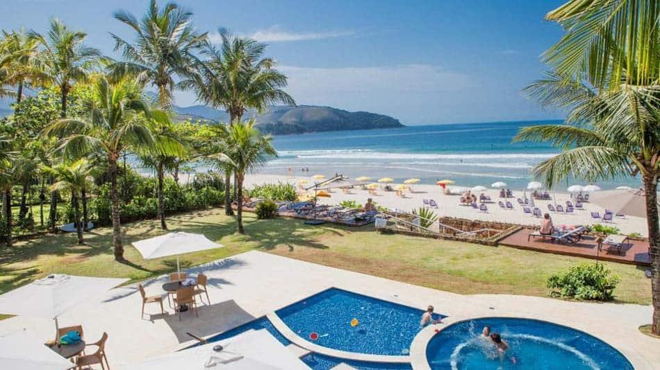 Os melhores hotéis pé na areia em SP: Amora Hotel