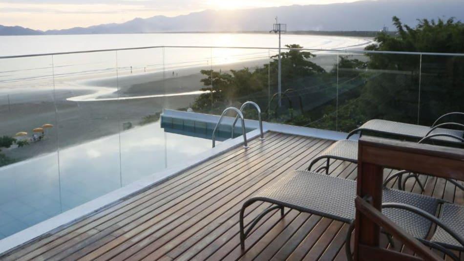 Os melhores hotéis pé na areia em SP: Pousada Coca di Mare