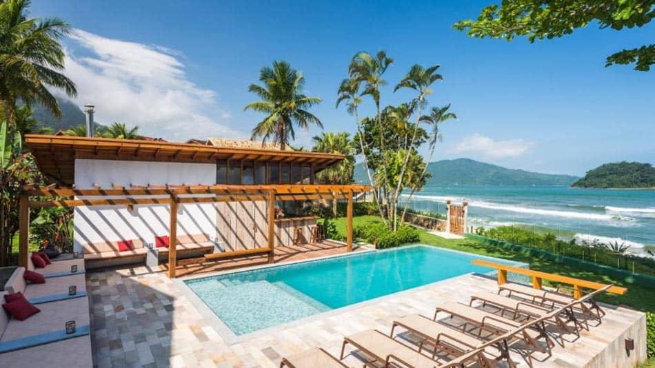 Os melhores hotéis pé na areia em SP: Villa Sapê Pousada