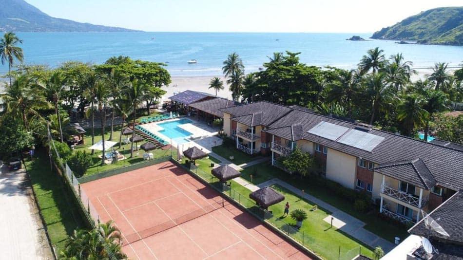 Os melhores hotéis pé na areia em SP: Vistabela Resort