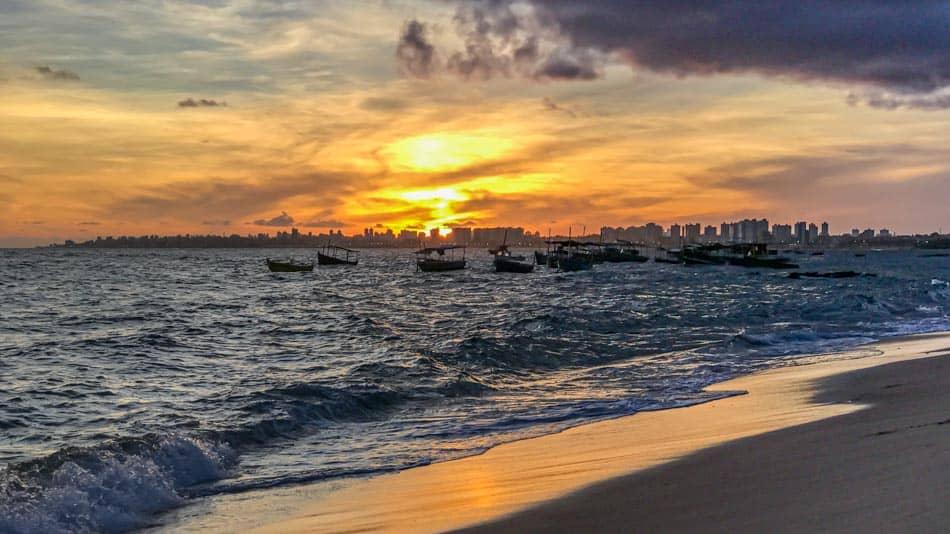 Pôr do Sol em Salvador: Itapuã