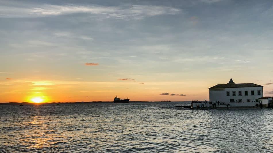 Pôr do Sol em Salvador: Ponta de Humaitá