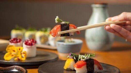Restaurantes vegetarianos em SP: Sushimar