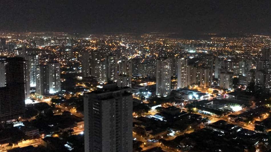 Rooftop do Grá Bistrô em Goiânia