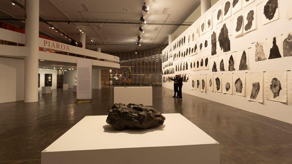 Meteoro Santa Luzia na Bienal de SP