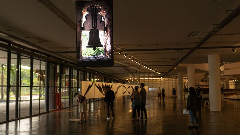 Sino de Ouro Preto na Bienal de SP
