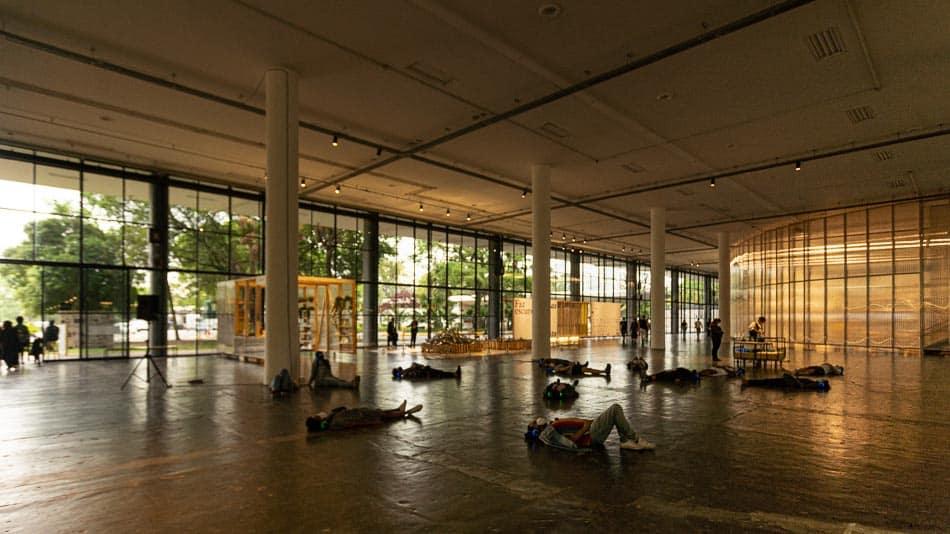 Obra de Roger Bernat na Bienal de São Paulo